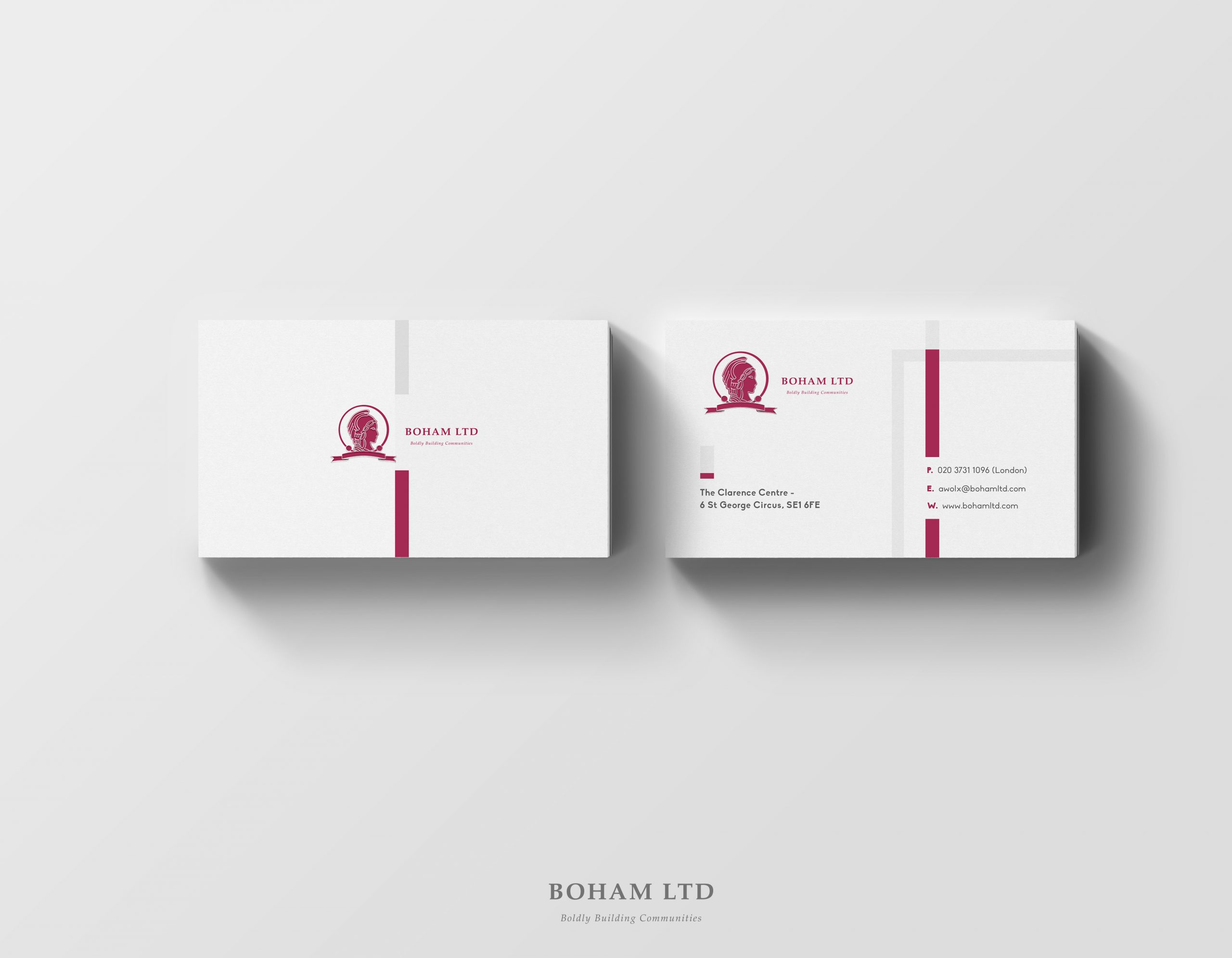 Boham Business Card Visual
