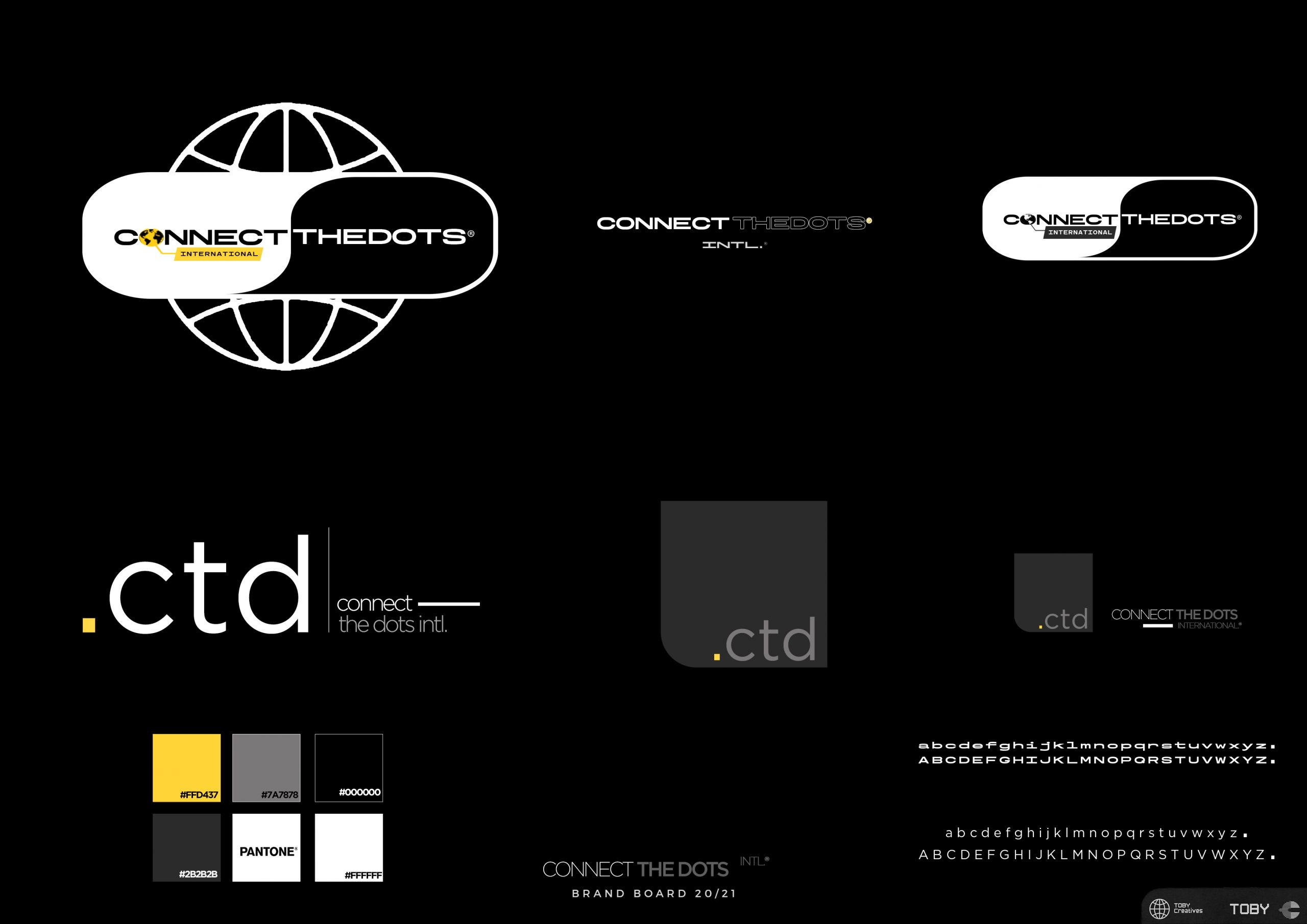 Connect The Dots Re-brand Board